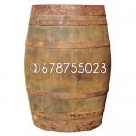 Barricas de vino usadas de 225 litros.