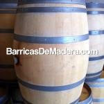 Barricas Toneles Cubas Barriles de madera usadas de 225 litros (1)