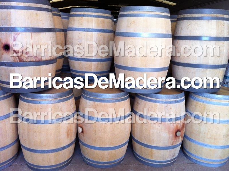 Barricas Toneles Cubas Barriles de madera usadas de 225 litros (2)