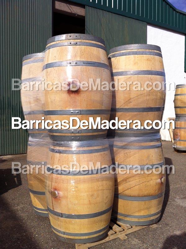 Envíos de barricas de madera usadas para decoración de bar