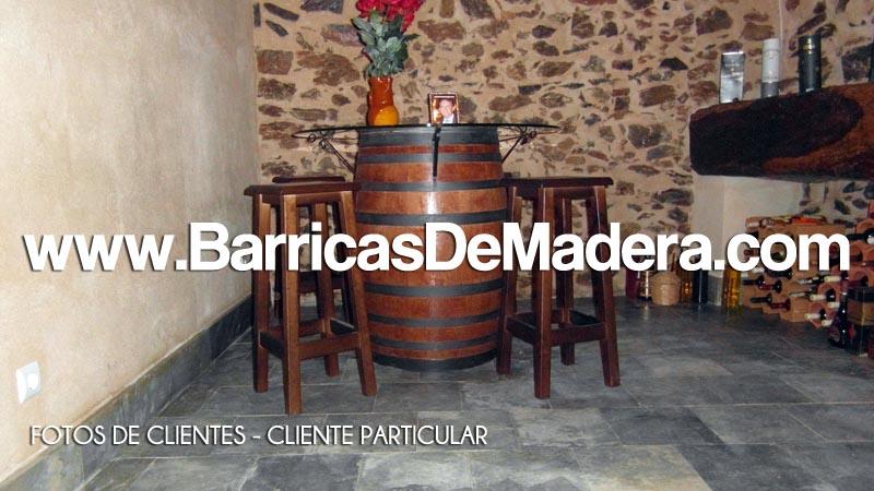 FOTOS DE BARRICAS DE CLIENTES - CLIENTE PARTICULAR 03