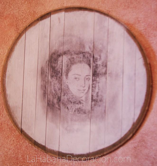 ODR 3-Retrato en barricas, arte en barricas, barriles reciclados