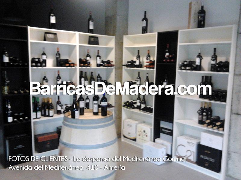 barricas gourmet, barricas para decoración