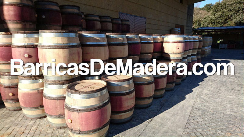 barricas usadas, used barrels