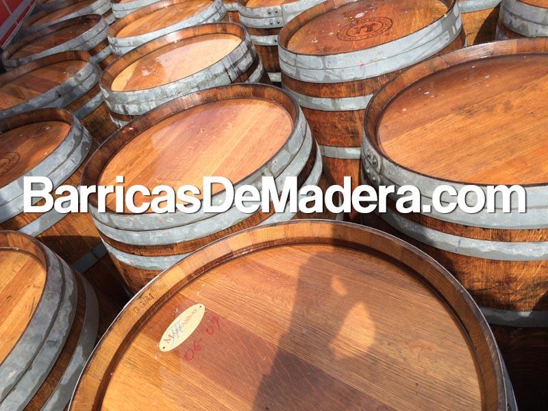 oak-wine-barrels-spain