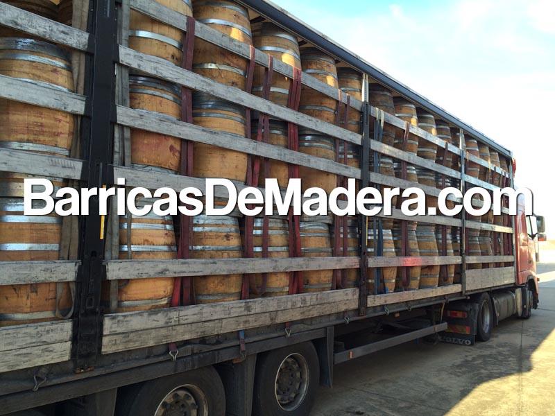 used-barrels-casks-full-truck-botti-usate-spagna