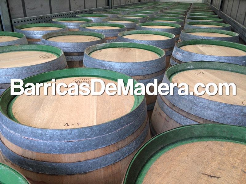 used-barrels-spain