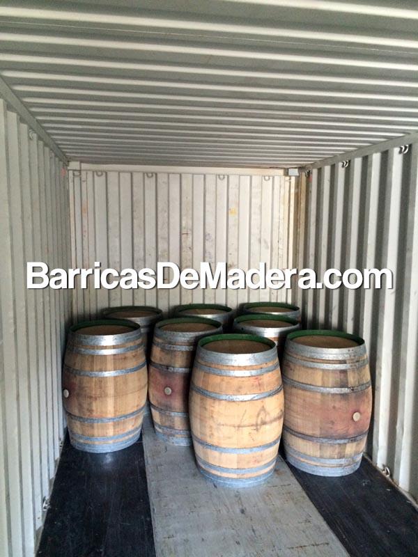 used-wooden-barrels