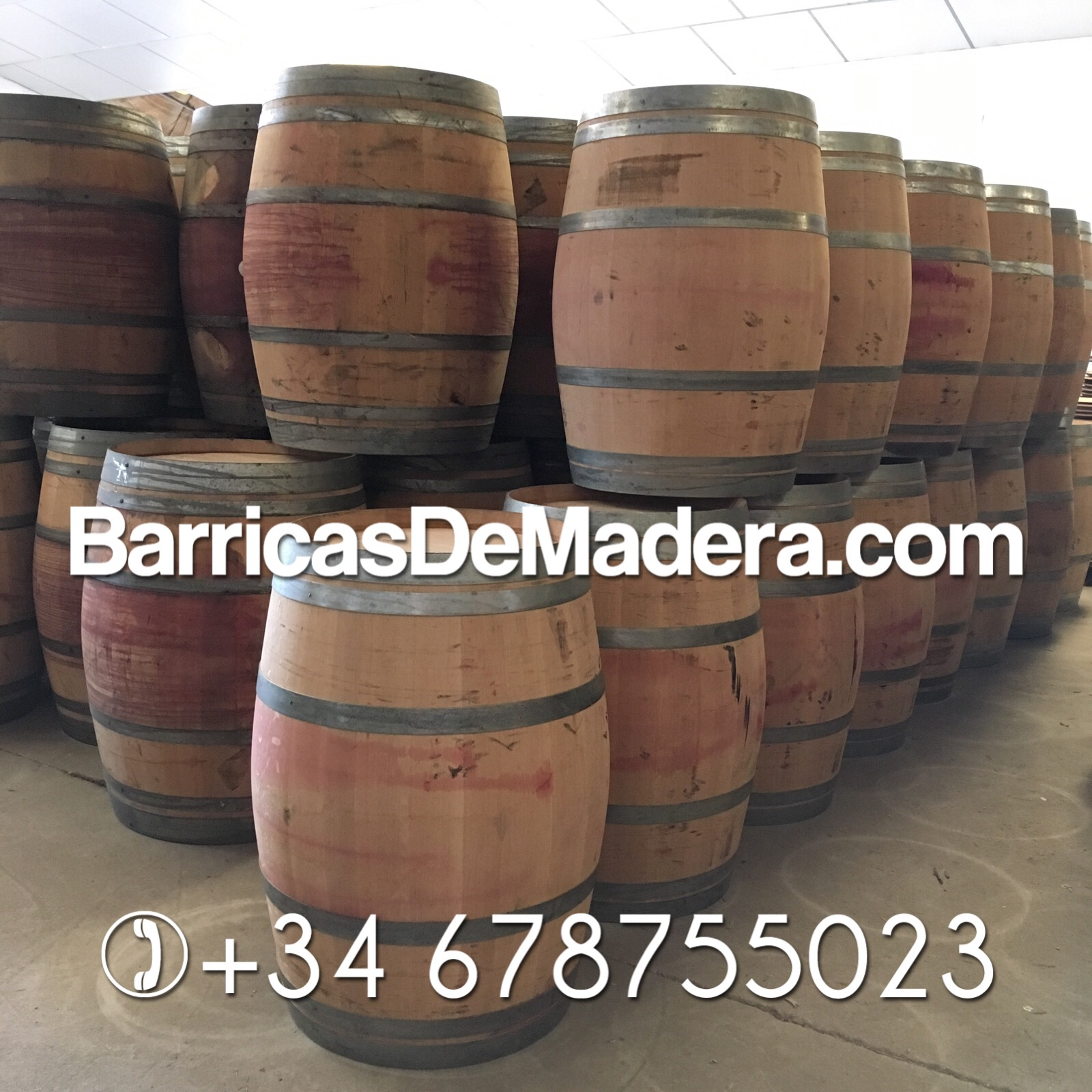 french oak barrels ex red wine
