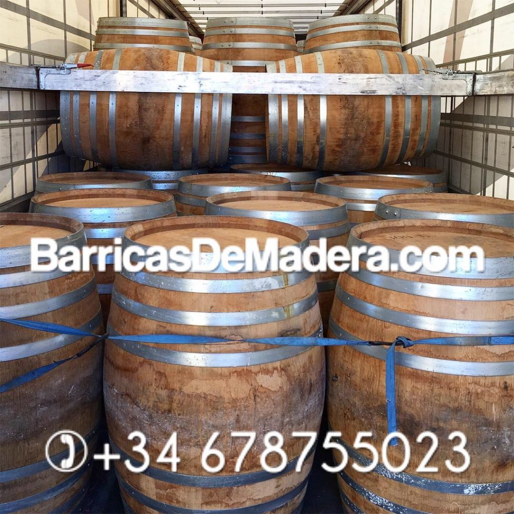 Ex-Brandy barrels