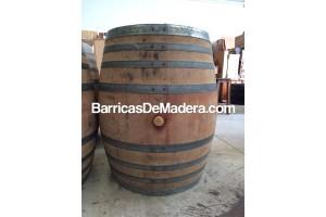 Barricas de madera 500 litros
