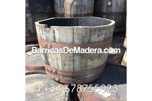 Barrica macetero 2/4 ECO