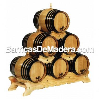 Piña media altura para 6 barriles