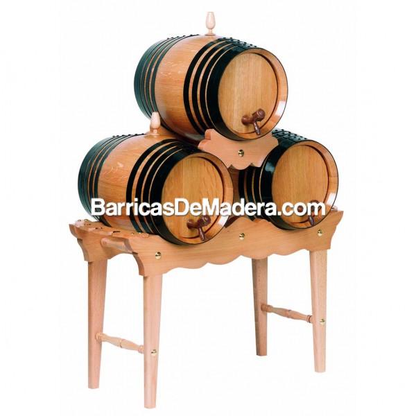 Piña media altura 3 barriles